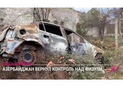 """Füzulidə onlar ölülərlə döyüşürdü - """"Dojd"""" telekanalının reportajı - VİDEO - FOTO"""