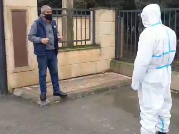 Hacıqabulda yaşadıqları yeri tərk edən koronavirus xəstələri barəsində cinayət işi başlanılıb - FOTO