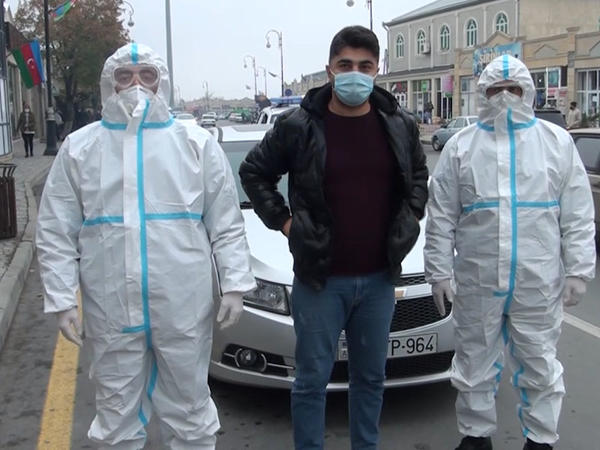"""Koronavirus xəstəsi şəhərdə saxlanıldı, <span class=""""color_red"""">cinayət işi açıldı - FOTO</span>"""