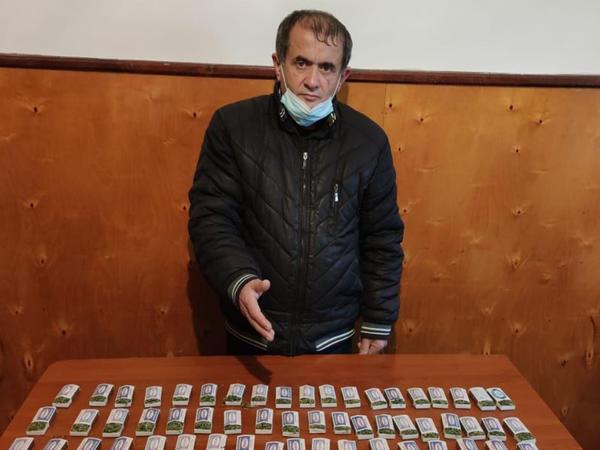 Astarada torpağa basdırılmış narkotik aşkarlandı