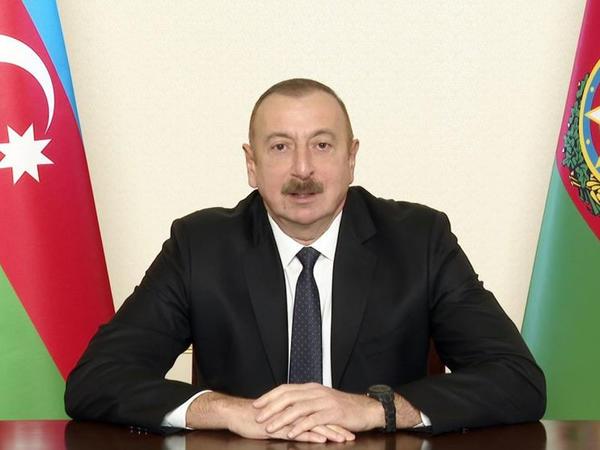 """Prezident İlham Əliyev: """"Ermənistan rəhbərliyindən fərqli olaraq, bizim strateji baxışlarımız var"""""""