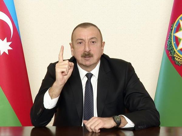 Azərbaycan Prezidenti: Fransa Senatı qətnamə qəbul edir, xoşları gəlirsə, Marsel şəhərini ermənilərə versinlər