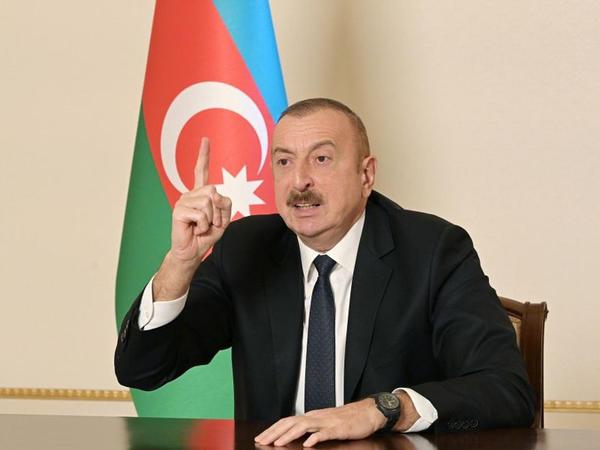 """Azərbaycan Prezidenti: """"Laçın dəhlizi Laçın şəhərinin içindən keçir, biz təklif etdik ki, yeni bir dəhliz inşa edilsin"""""""