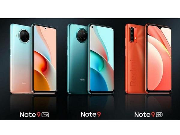 Redmi Note 9 5G, Note 9 Pro 5G və Note 9 4G smartfonları təqdim olunub