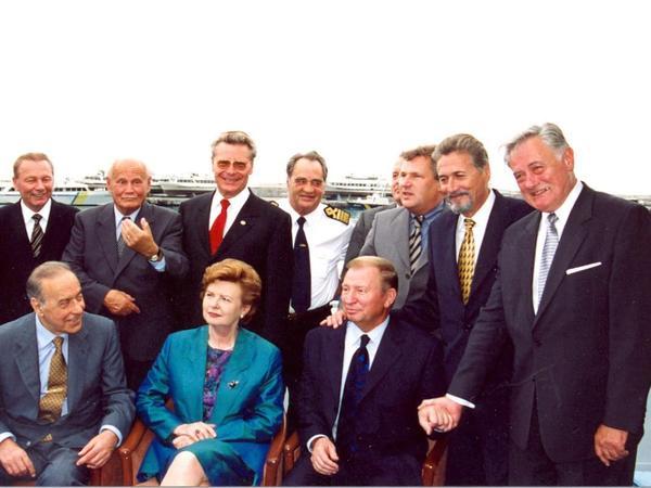"""Şərqi Avropada ilk qadın prezident kimi tarixə düşən Vaira-Vike Freiberqa 83 yaşını qeyd edir - <span class=""""color_red"""">VİDEO - FOTO</span>"""