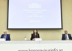 Nazirlər Kabineti yanında Operativ Qərargah brifinq keçirib - FOTO