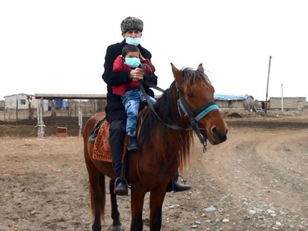 """""""Mən hər zaman arzu edirdim ki, Laçına bu atla qayıdım"""" - VİDEO"""