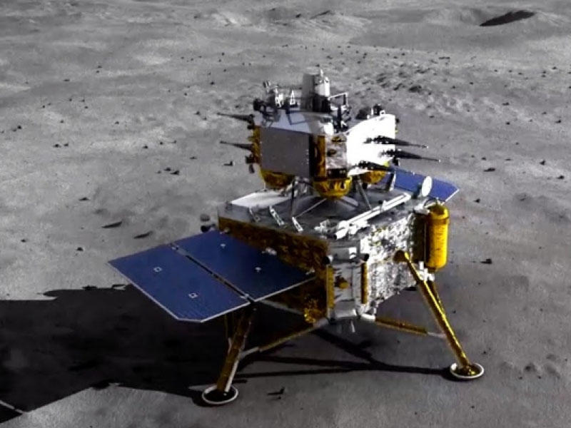Çinin kosmik aparatı Ayda ilk süxur nümunələrini toplayıb