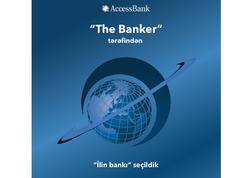 """""""AccessBank"""" """"The Banker"""" tərəfindən """"İlin bankı"""" seçildi"""