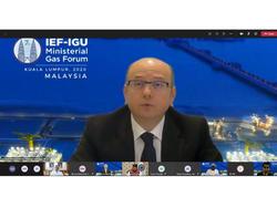 Pərviz Şahbazov 7-ci Beynəlxalq Enerji Forumu - Beynəlxalq Qaz İttifaqı Nazirlərinin Qaz Forumunda iştirak edib