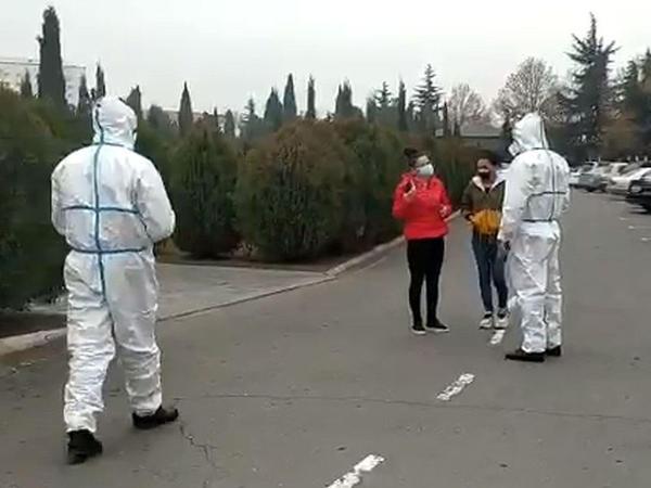 Yaşayış yerini tərk edın COVİD-19 daşıyıcısana cinayət işi açıldı - VİDEO
