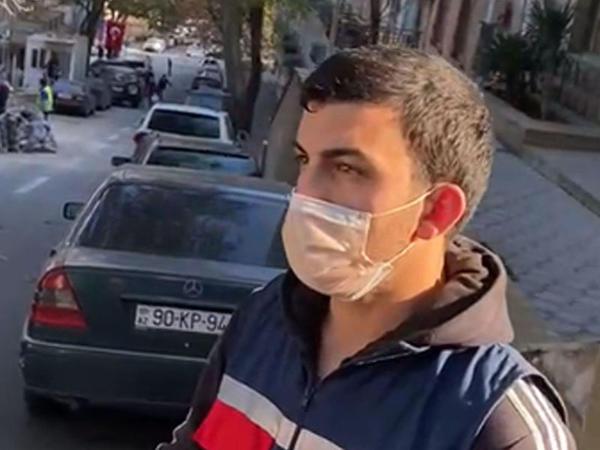 Bakıda evi tərk edən COVİD-19 daşıyıcıları saxlanıldılar - VİDEO