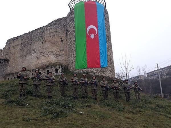"""Azərbaycan Ordusunda Vətən müharibəsi şəhidlərinin xatirəsi anılıb - <span class=""""color_red"""">VİDEO - FOTO</span>"""