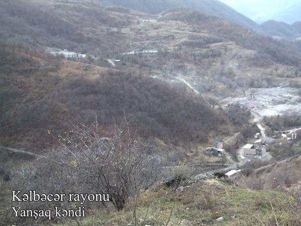 Kəlbəcər rayonunun Yanşaq kəndindən VİDEOgörüntülər