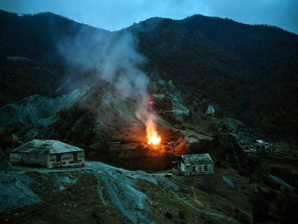 Özbəkistan mediası Ermənistanın Qarabağda törətdiyi ekoloji terrordan yazıb