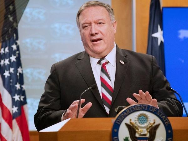 """Pompeo: """"İran əlacsız şəkildə danışıqlara qayıtmağa çalışır"""""""