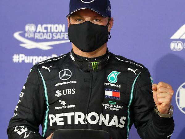 """Bottas """"Formula-1"""" üzrə Bəhreyn Qran Prisinin təsnifat mərhələsinin qalibi oldu"""
