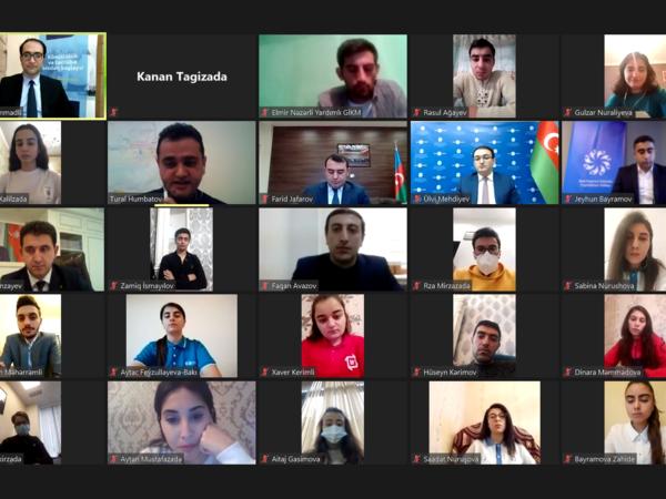 Azərbaycan könüllüləri portalının təqdimatı keçirilib