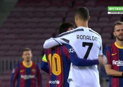 """Çempionlar Liqası: <span class=""""color_red"""">Messi ilə Ronaldu 2,5 ildən sonra üz-üzə oyun keçiriblər - VİDEO</span>"""