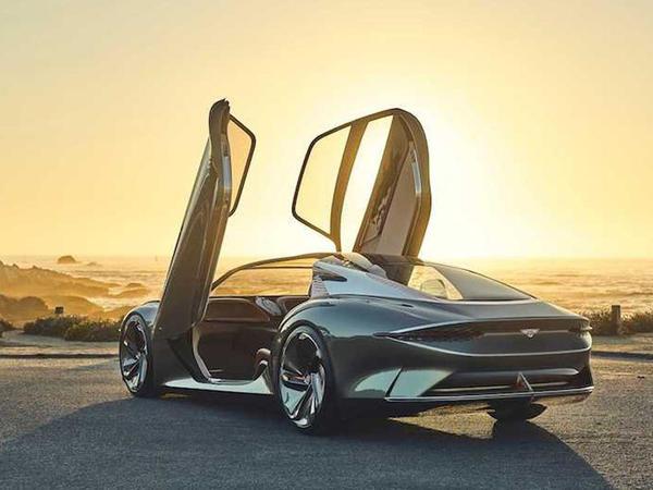 Bentley markasının ilk elektrokarı barədə məlumat peyda olub - FOTO