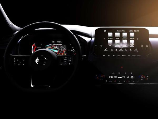 Nissan yeni nəsil Qashqai modelinin interyerini nümayiş etdirib - FOTO