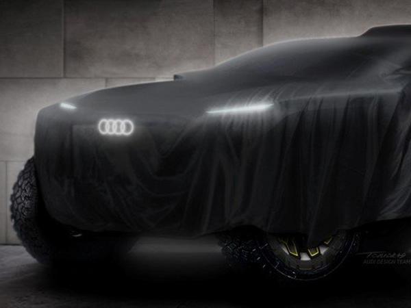 Audi Dakar ralli-reydinə elektrokarla qatılacaq - FOTO