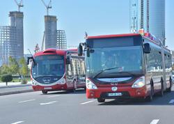 """Şənbə və bazar günləri marşrut avtobusları fəaliyyət göstərməyəcək - <span class=""""color_red""""> BNA</span>"""