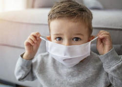 İnfeksiya geniş yayıldığına görə uşaqların da maska taxması məsləhət görülür