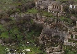 Cəbrayıl rayonunun Balyand kəndi - VİDEO