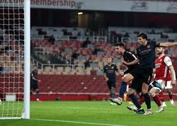 """""""Arsenal"""" - """"Mançester Siti"""" oyununda 5 qol vuruldu - VİDEO"""