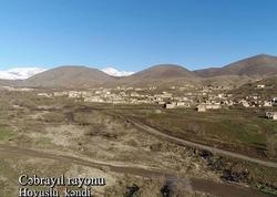 Cəbrayıl rayonunun Hovuslu kəndi - VİDEO