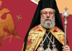 """Cənubi Kiprin Yunan Baş yepiskopu: """"Ərdoğan əsl vətənpərvərdir"""""""