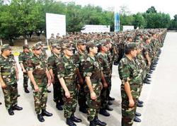 Paytaxt üzrə 127 təhsil işçisi ordu sıralarına qoşulub