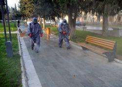 Paytaxtda 554 küçə dezinfeksiya edilib - FOTO