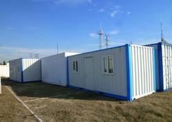 Rusiya FHN Azərbaycana 15 mobil konteyner göndərib - VİDEO - FOTO