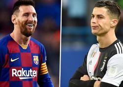 Messi 1-ci, Ronaldu 12-ci oldu