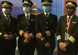 Qadın pilotlar aviasiya tarixində ilkə imza atdılar