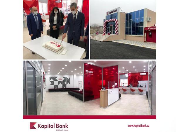 Kapital Bank Ordubad filialını da yenilədi