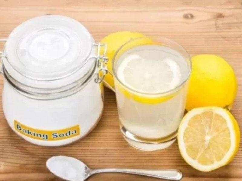 Allergk rinit, tonzillit, faringit, qrip, viruslara qarşı - Soda limon resepti