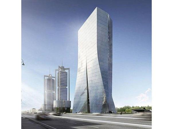 Mərkəzi Bankın yeni binası 37 mərtəbə olacaq - FOTO