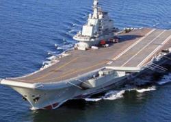 Çinin ilk aviadaşıyıcı gəmisinin inşası başa çatmaq üzrədir