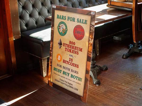 Nyu-Yorkda 2 restoran BTC və ETH ilə satılır