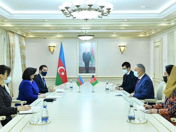Azərbaycanla Əfqanıstan arasında əlaqələrin perspektivləri müzakirə edilib
