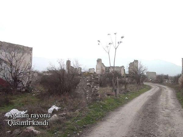 Ağdam rayonunun Qasımlı kəndi - VİDEO