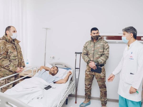 """""""YAŞAT"""" Fondu ciddi fiziki travma alan qazilərimizi uğurla əməliyyat etdirib - FOTO"""