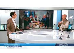 """Reza Deqati Fransa mətbuatında Şuşanın tarixindən, erməni vəhşiliklərindən və Azərbaycan multikulturalizmindən bəhs edib - <span class=""""color_red"""">VİDEO - FOTO</span>"""