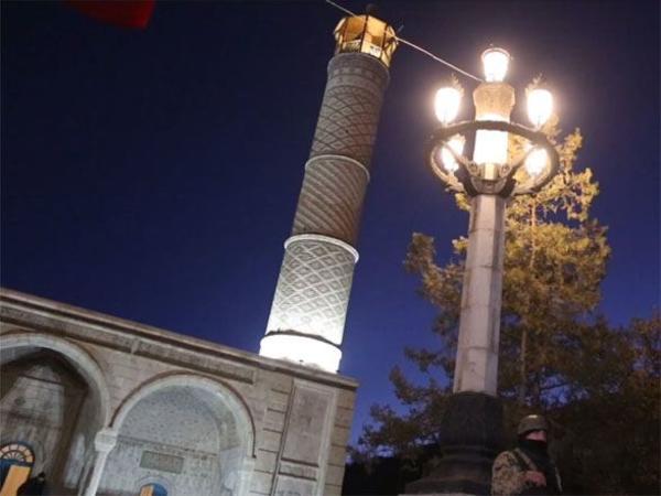 Şuşa şəhəri elektrik enerjisi ilə təchiz edilib - VİDEO
