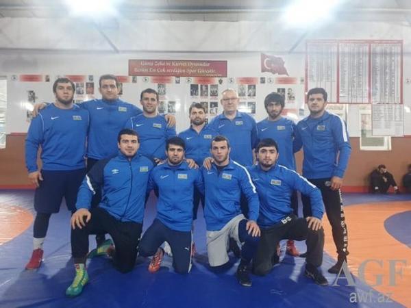 """Yunan-Roma güləşçilərimiz """"Qran-pri""""də 8 medal qazandı"""