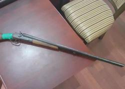 İsmayıllı və Bərdə sakinlərindən odlu silahlar götürüldü