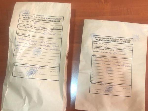 Taksidə 4 kiloqram heroinlə tutuldu